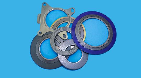 Metalldichtungen, Spiraldichtungen, Wellenringdichtung, Kammprofildichtung