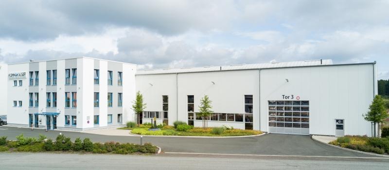 Das neue Gebäude der Kuhn + Kaiser GmbH