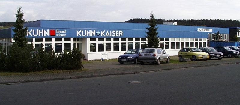 Das alte Gebäude der Kuhn + Kaiser GmbH